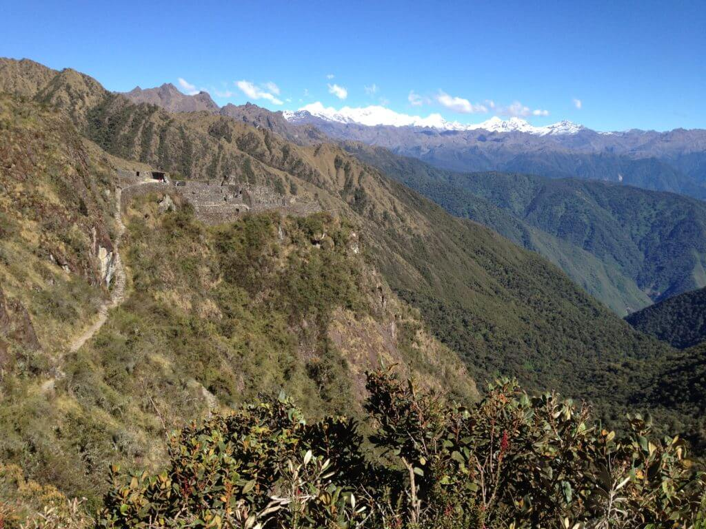 Sayaqmarka, Inca Trail, cloud forest