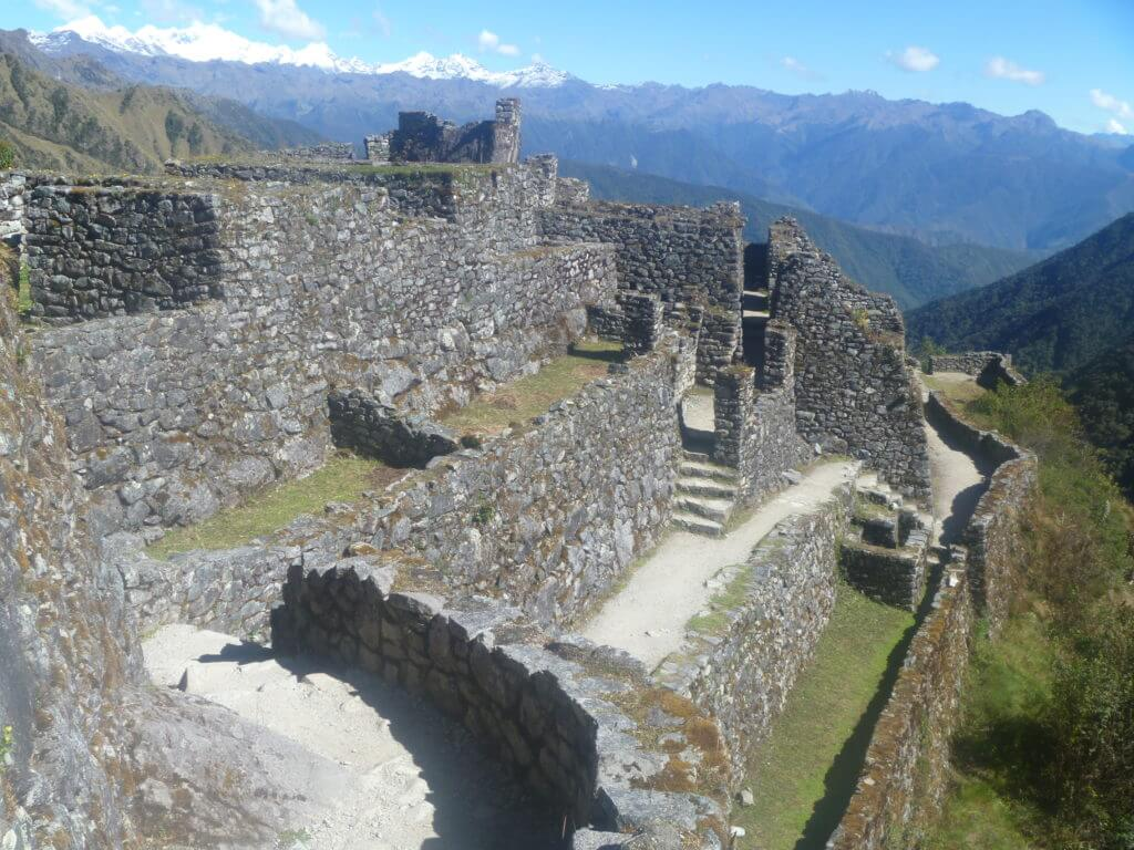 Sayaqmarka, Inca Trail, steps, cloud forest