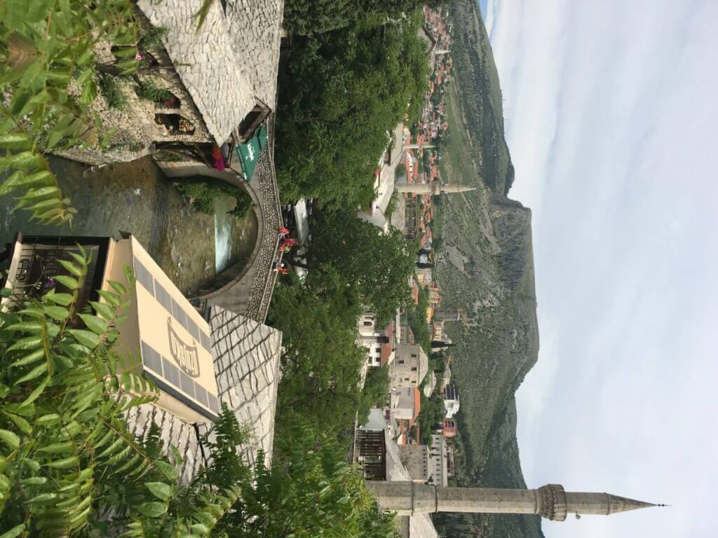 Mostar Old Town, Crooked Bridge