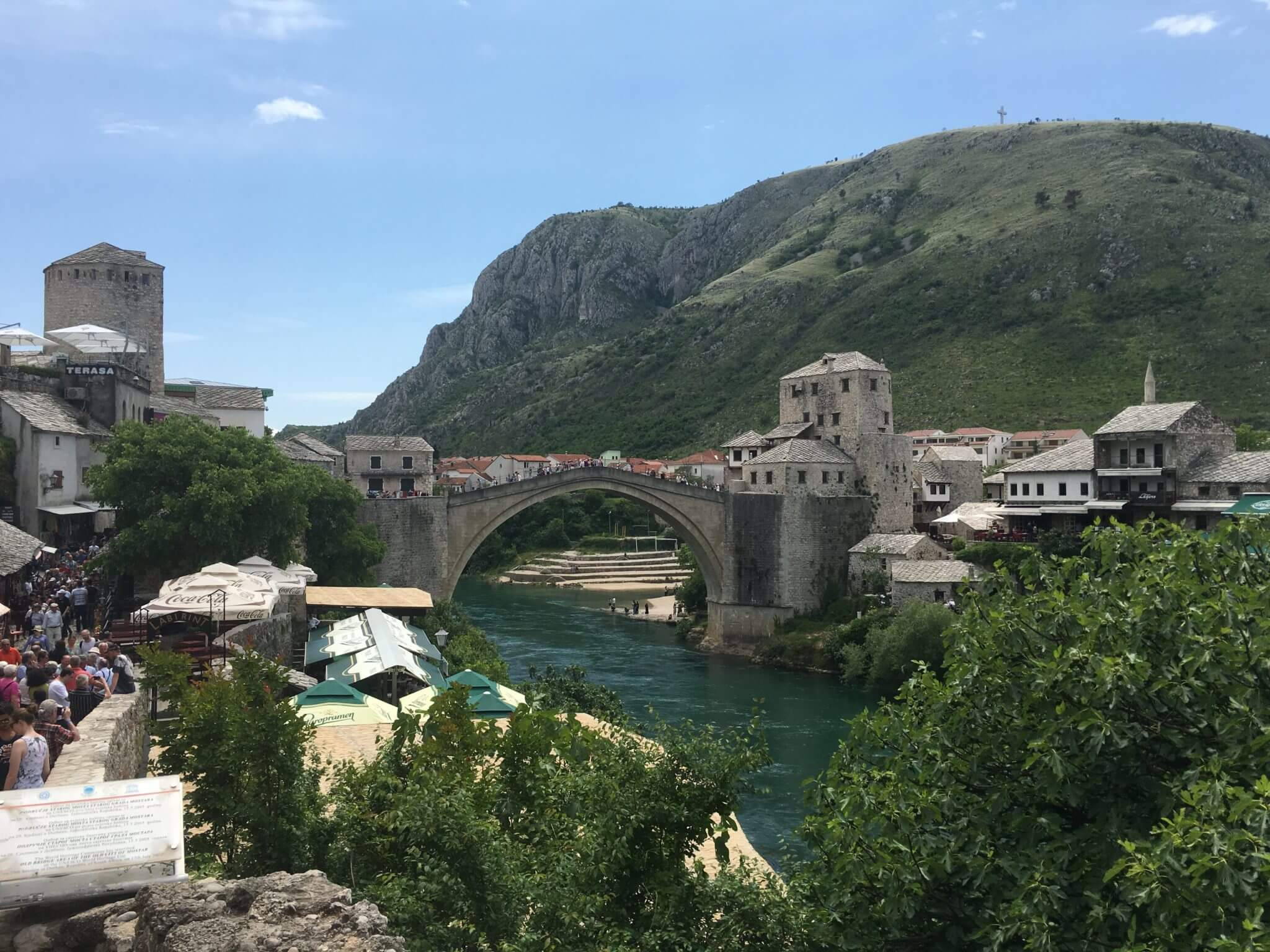 Mostar, Stari Most Bridge, Old Bridge, Neretva River