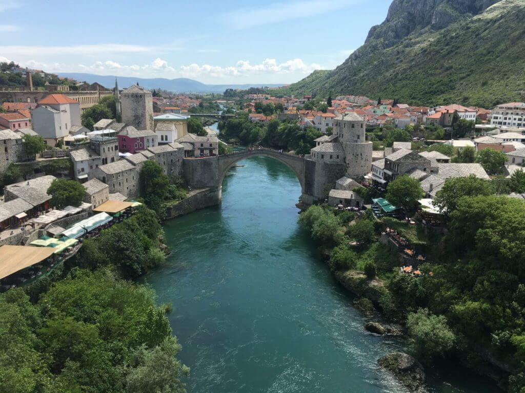 Stari Most Bridge, Nerteva River, Mostar