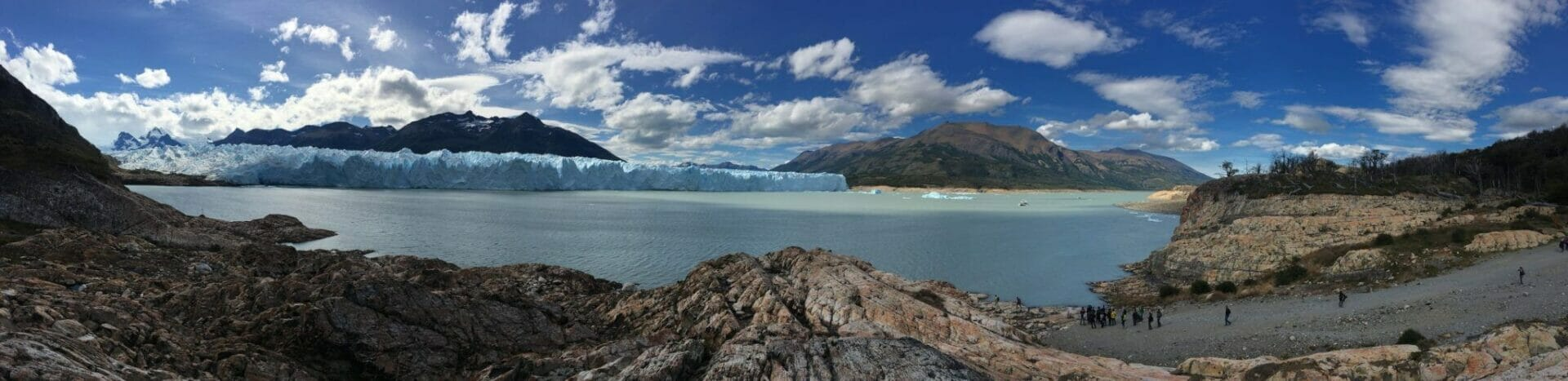 Perito Moreno South Shore Panorama