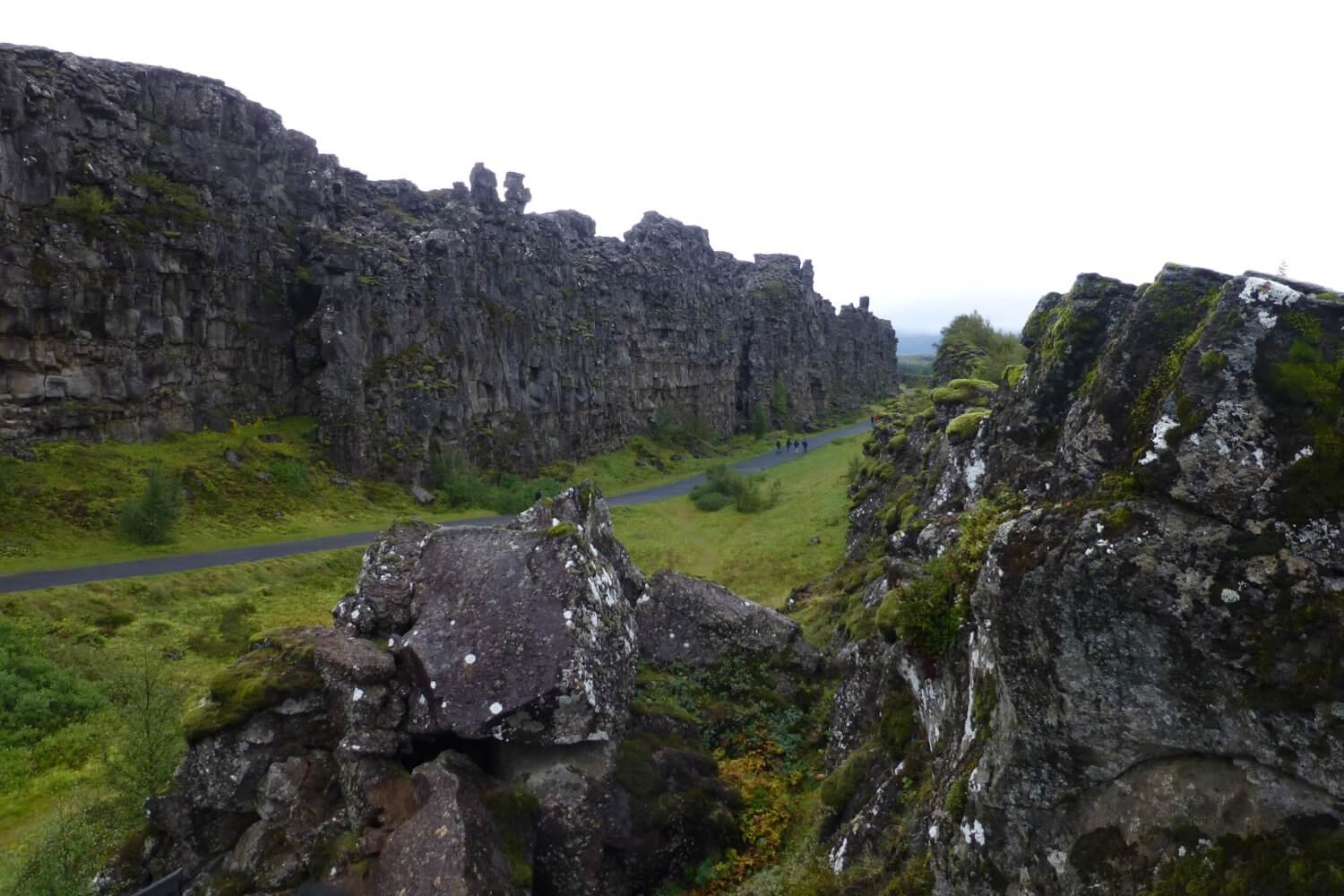 Almannagja Canyon, Thingvellir National Park Iceland