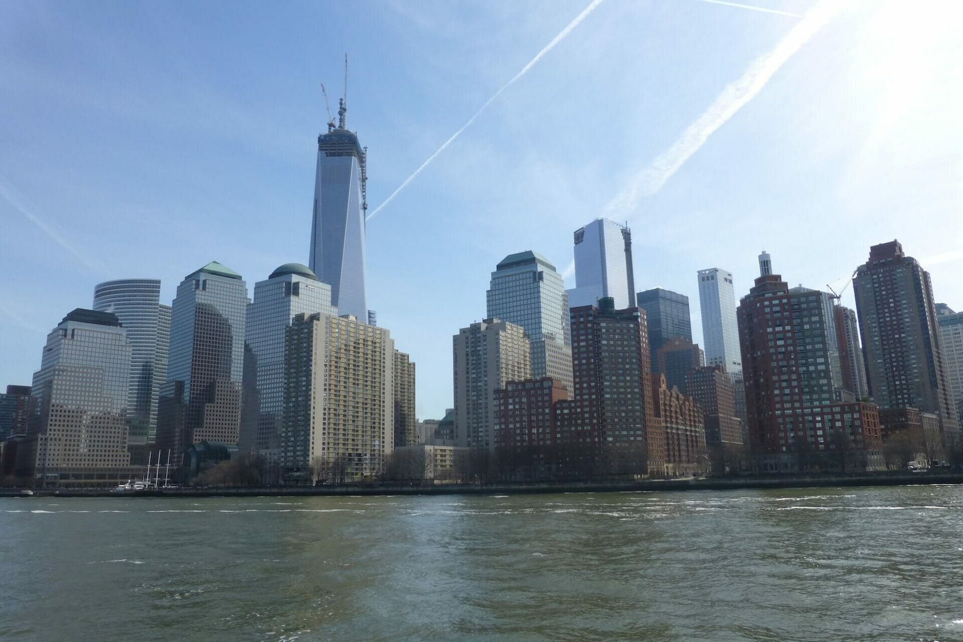 manhattan skyline New York