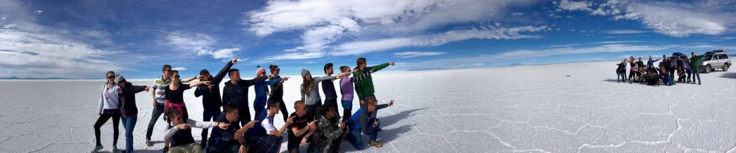 fun in the salt flats