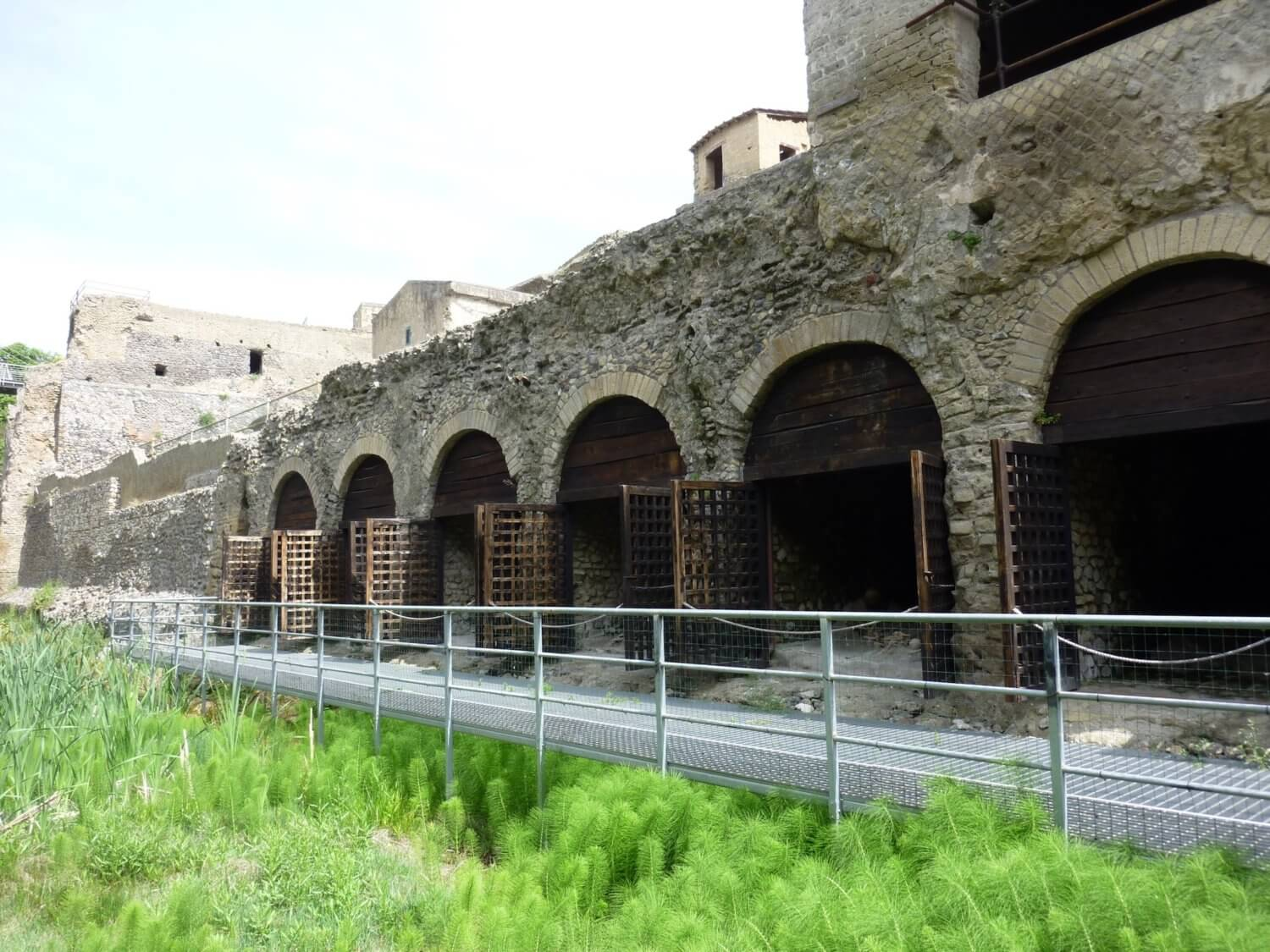 Herculaneum Boathouses