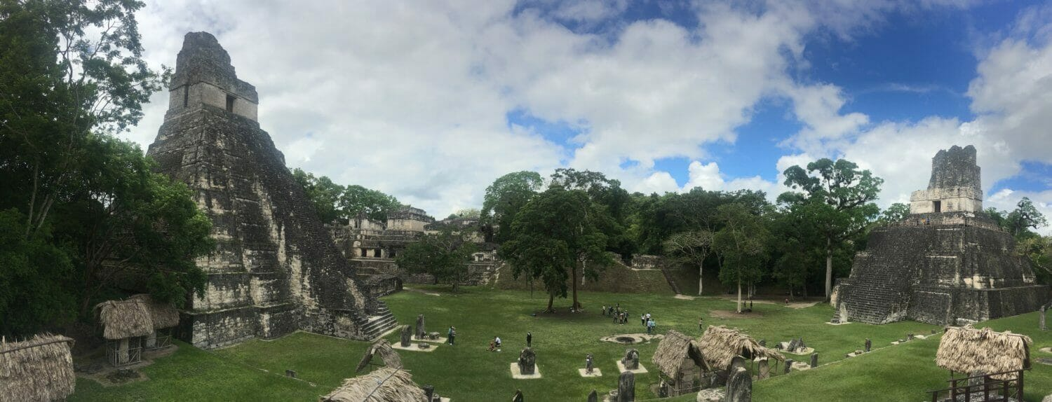 tikal grand plaza, grand plaza panorama