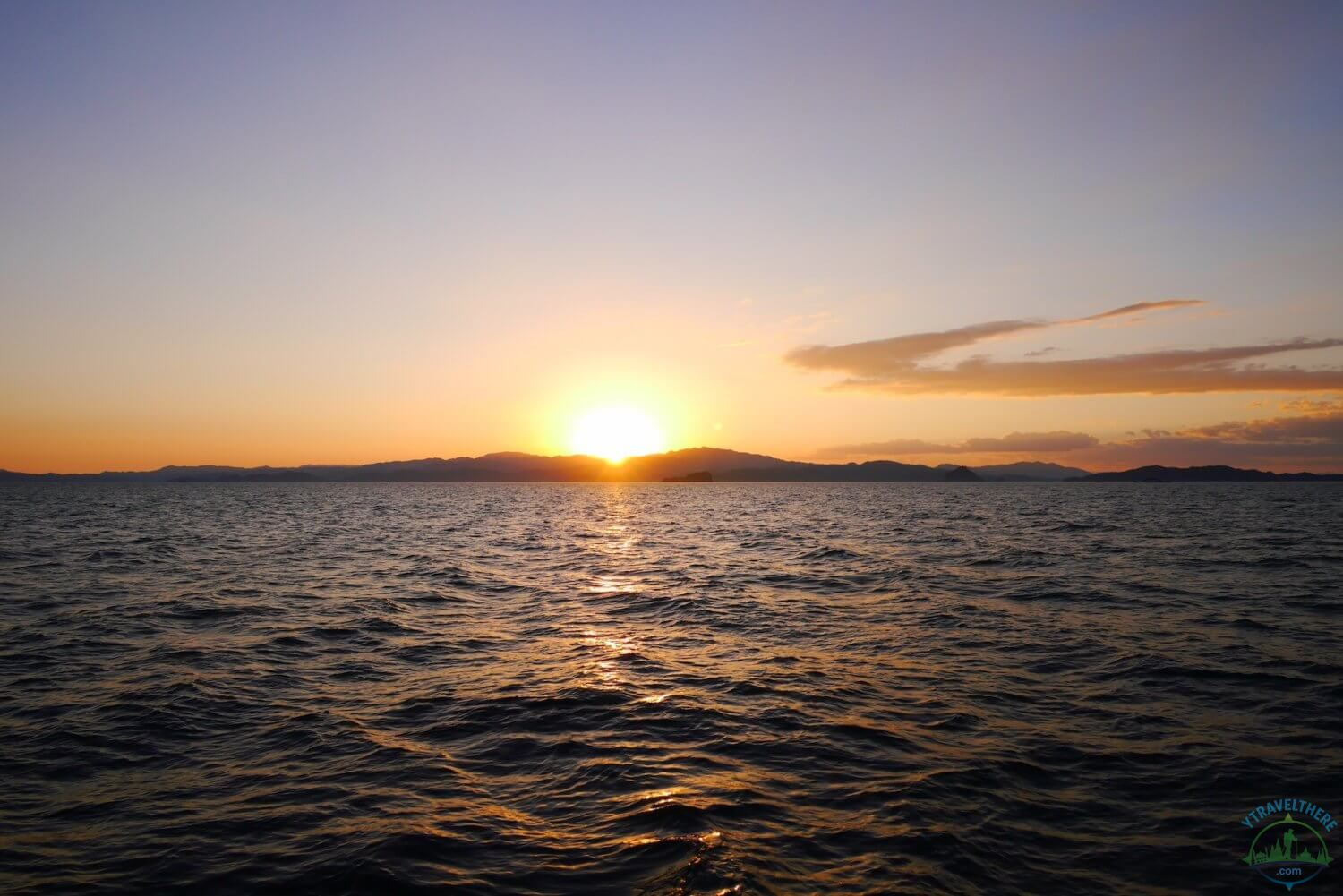 sunset Nicola peninsular, sunset cruise quepos, stunning sunsets