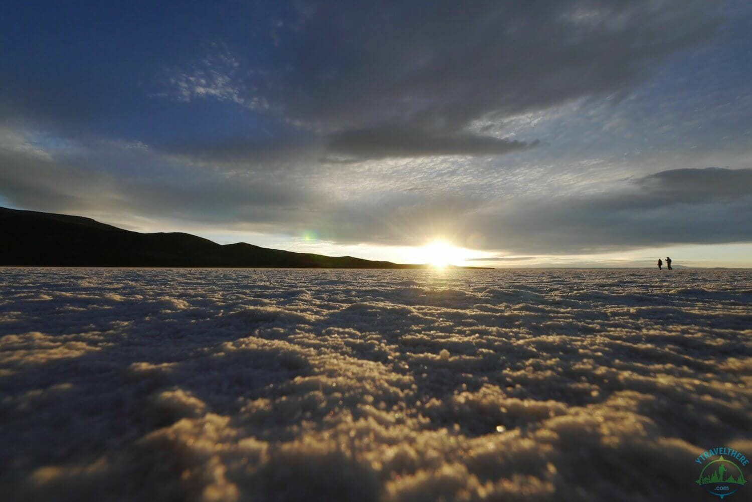 bolivian salt flat sunrise