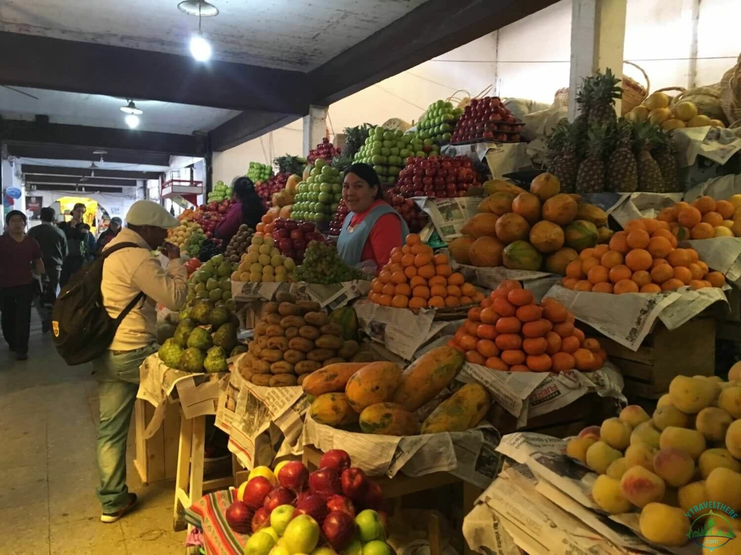 local life sucre, Bolivia markets, fruit stall Bolivia