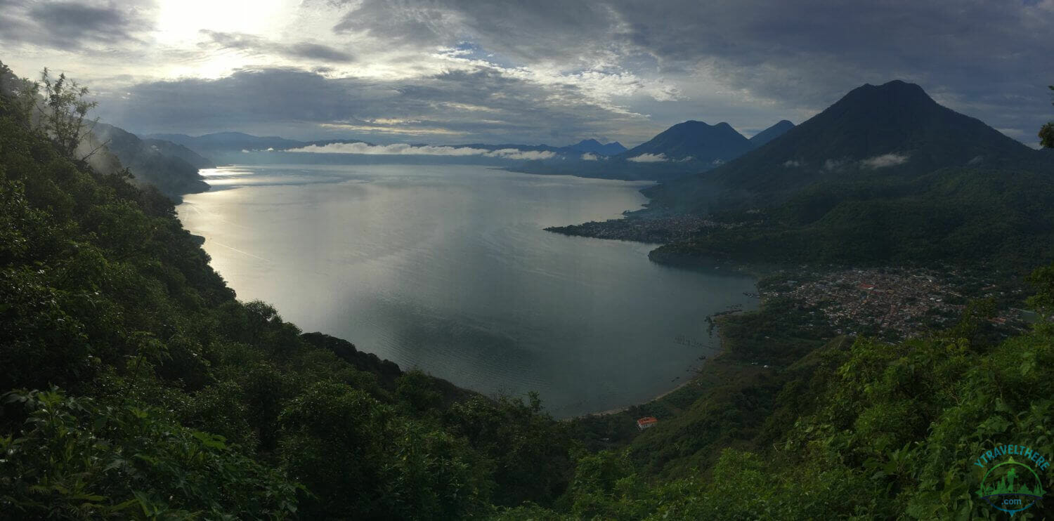 lake atitlan panorama